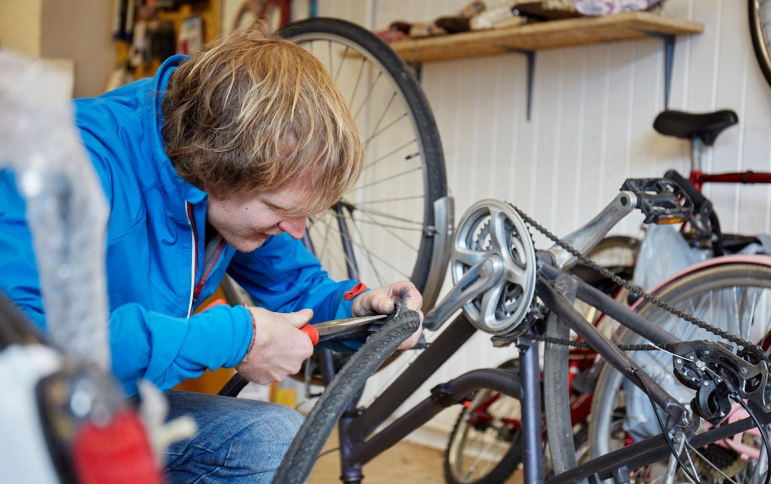 Climate Action Strathaven bike repair workshops